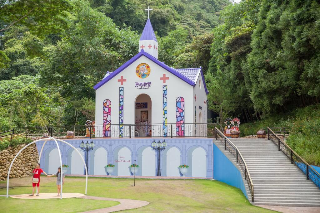 埔里景點-愛情故事館(月老教堂)