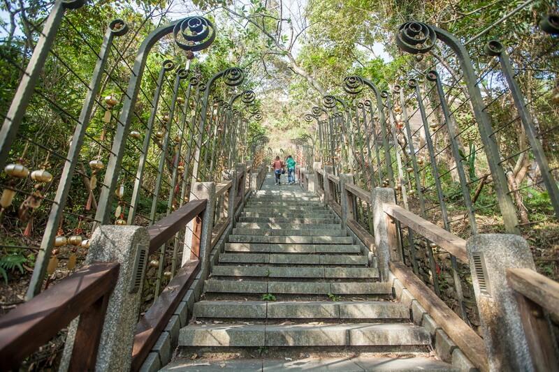 日月潭景點-年梯步道