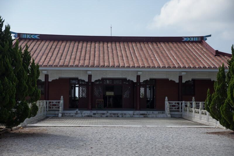 日月潭景點-王太夫人紀念堂