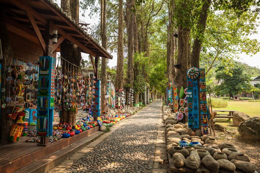 埔里景點-牛耳石雕公園(牛耳渡假村)