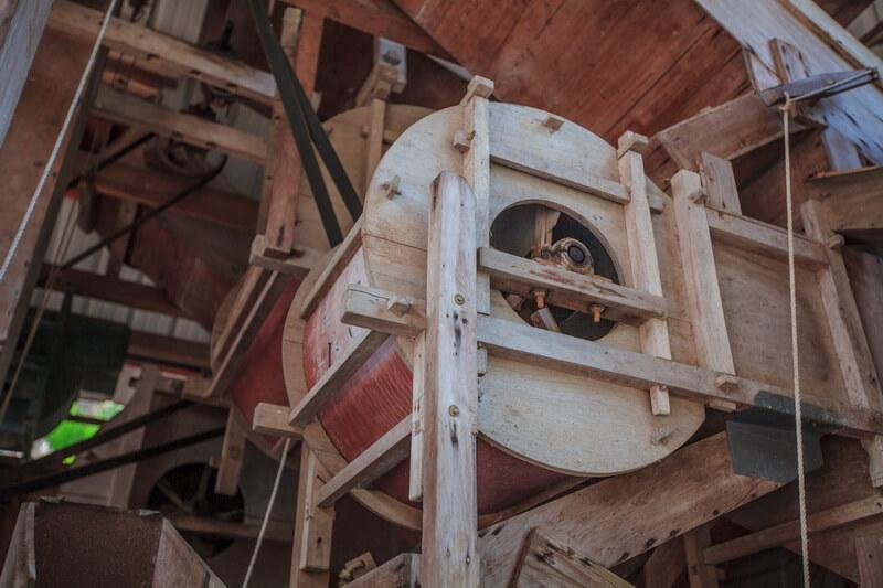 日月潭景點-三聖宮(百年碾米機)