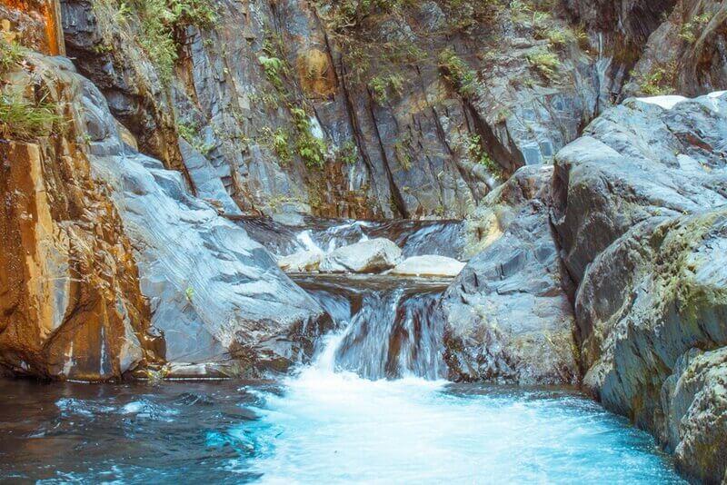 清境景點-清境帖比倫瀑布