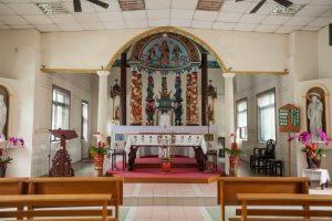 竹山景點-竹山天主教會玫瑰堂